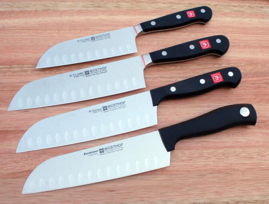 Santoku: a faca versátil para cortar todo tipo de alimento