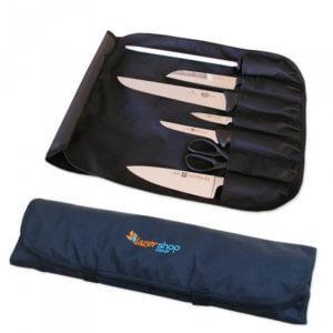 Estojo Gastronomia para Facas 7 Compartimentos - LazerShop