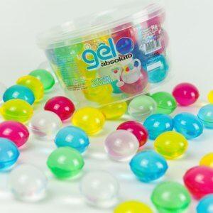 imagem de gelo artificial colorido