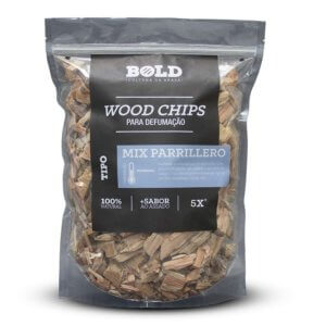 wood chips mix parrillero