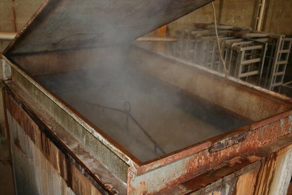 Processo de fabricação de churrasqueira