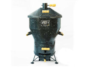 Apolo 8 Esmaltada - tamanho ideal churrasqueira residencial - para casas e apartamentos